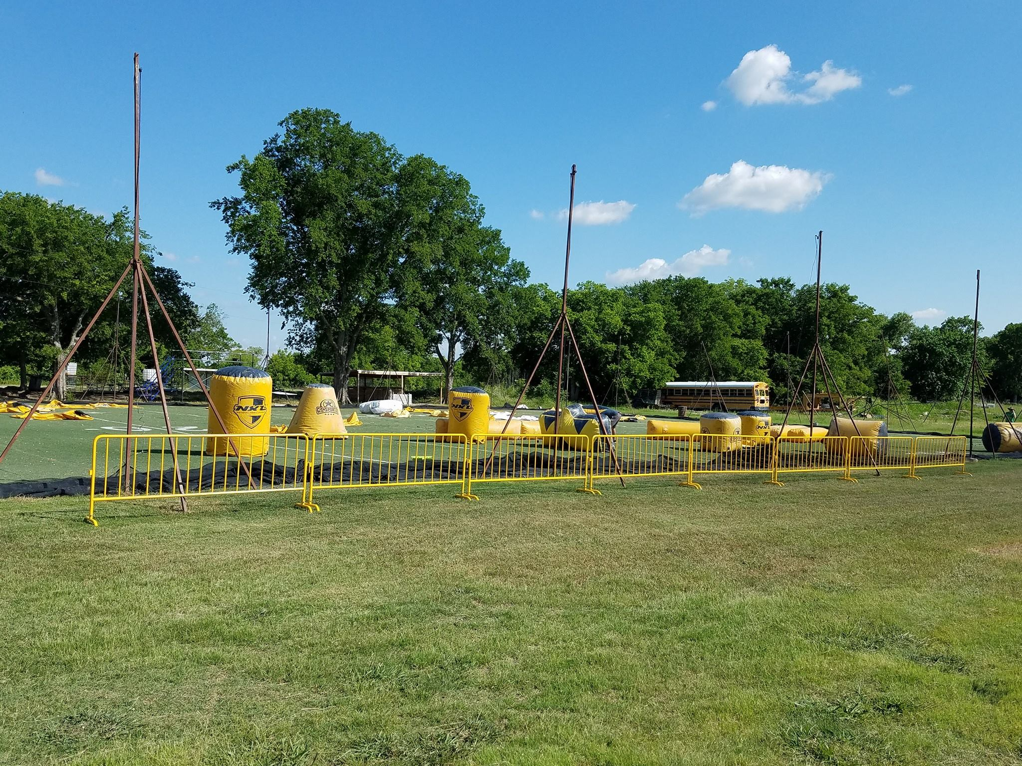 Paintball Dallas Field Layout