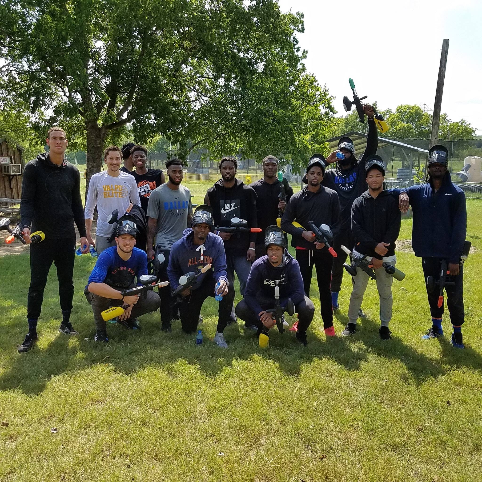 Paintball Dallas Group Picture