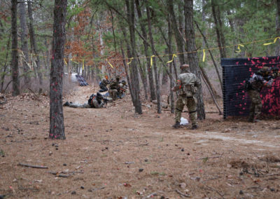 Paintball NJ Defend the Line