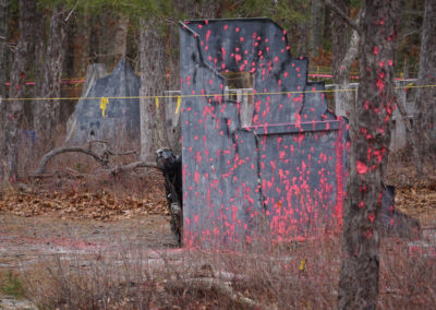 Paintball NJ Hiding