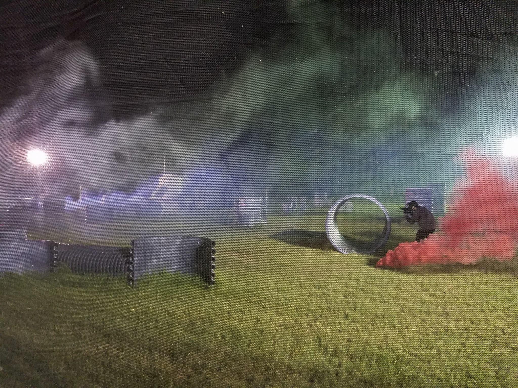 Paintball Scenario Smoke