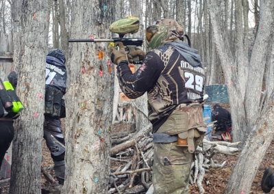 Staten Island Paintball Cover Fire