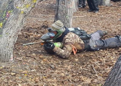 Staten Island Paintball Player