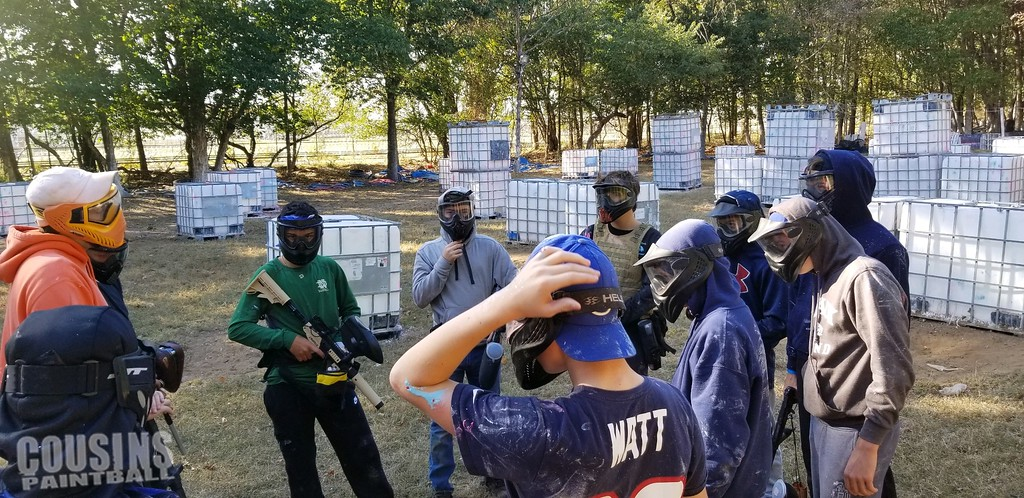 Staten Island paintball team plan